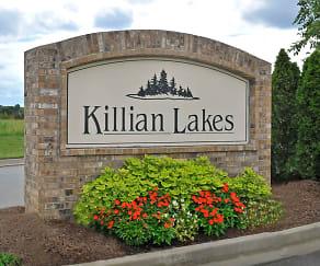 Community Signage, Killian Lakes Apartments & Townhomes
