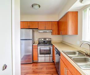 Kitchen, Clinton Place Apartments