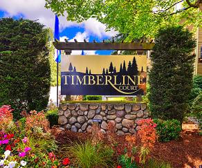 Community Signage, Timberline Court