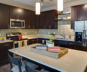 Kitchen, One Southdale Place Apartments