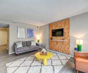 Living Room, Wynsum Townhomes