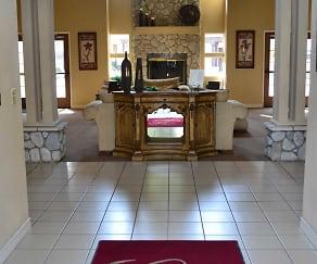 Elegant club house with a full kitchen., Crown Ridge Apartments