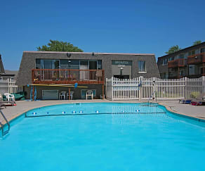 Pool, Cottonwood Apartments
