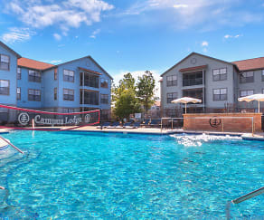 Pool, Campus Lodge - Per Bed Lease