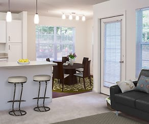 One Bedroom Kitchen and Dining (Avalon Oaks - Building 4000), Avalon Oaks and Oaks West