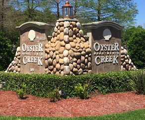 Community Signage, Oyster Creek Apartments