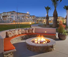 Courtyard, Oak Springs Ranch