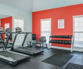Fitness Weight Room, Turtle Place Apartments