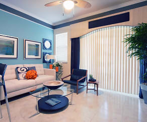 Living Room, The Palms of Doral Apartments
