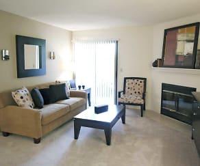 Interior-Living Room, Arbor Pointe