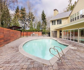 Pool, Maple Glen Apartments