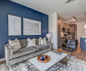 Living Room, Olympus on Main