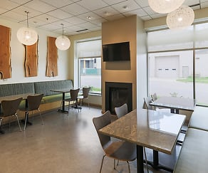 Dining Room, Solhaus Apartments & Tower