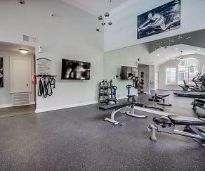 Fitness Weight Room, Fairways at Prestonwood