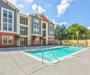 Pool, Magnolia Park Apartments