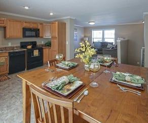 Dining Room, Bison Run