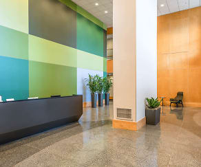 Lobby, The Towers at Longfellow