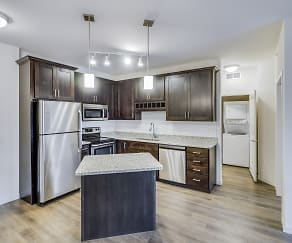 Kitchen, Timber Ridge Luxury Apartments