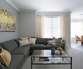 Living Room, Residences at Steele Road