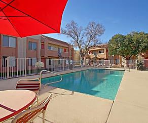 Pool, Mountain View Apartments