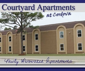 Community Signage, Courtyard Apartments at Cordova