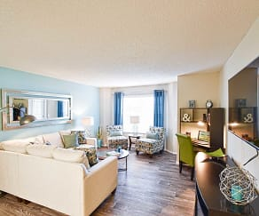 Living Room, Enclave at Lake Underhill