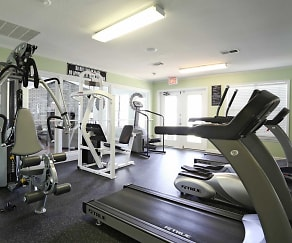 Fitness Weight Room, Canterbury Woods