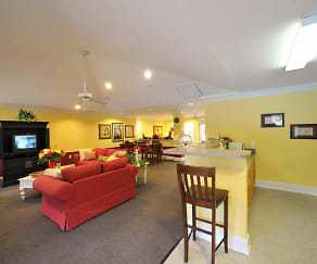 Living Room, The Oaks at Brier Creek