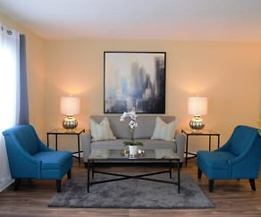Living Room, The Life at Windy Hill