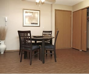 Dining Room, Westwind Apartments