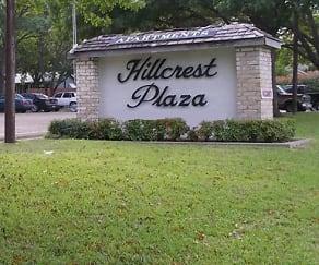 Community Signage, Hillcrest Plaza Apartments
