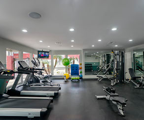 Fitness Weight Room, Vista Valley