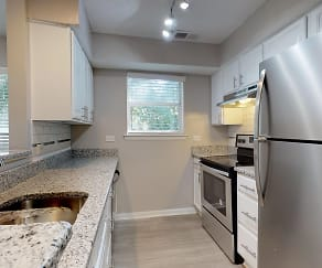 Kitchen, Willow Bend Apartments