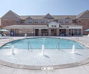 Pool, Keystone at Walkertown Landing Apartments