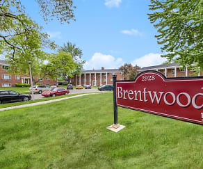 Building, Brentwood Apartments