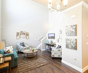 Living Room, Willow Point Townhomes