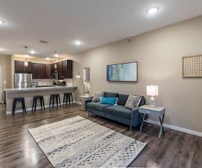Living Room, Retreat Apartments & Townhomes at Urban Plains