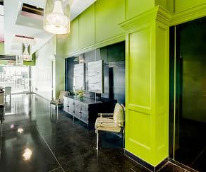 Entryway and Concierge Desk, The Albert