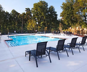 Pool, Deacon's Station - Student Living