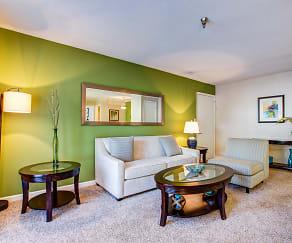 Living Room, Arlington Park at Wildwood