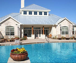 Relax by the Refreshing Pool, The Residence at Central Texas Marketplace