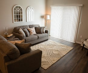 Living Room, Dwell at Lakewood