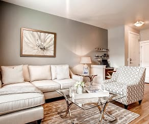 Living Room, Ovation Apartment Homes
