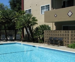 Pool, Courtyard Apartments