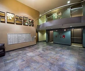 Foyer, Entryway, Palisade Apartments