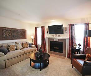 Living Room, Newport Apartments
