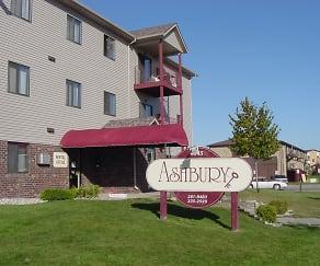 Community Signage, Ashbury Apartments
