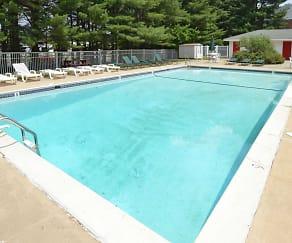 Pool, Allandale Village Apartments