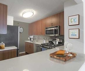 Kitchen, Avalon Towers