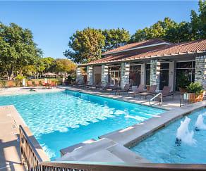 Pool, Villas of Preston Creek
